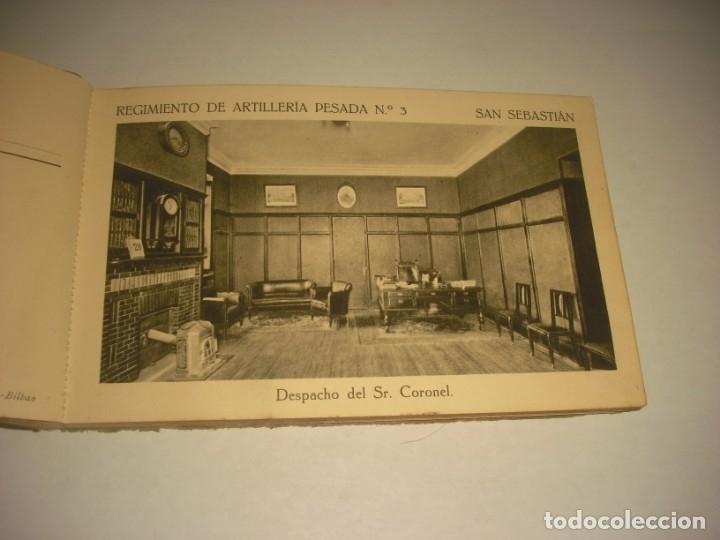 Postales: REGIMIENTO DE ARTILLERIA PESADA Nº 3 , SAN SEBASTIAN . 24 POSTALES. - Foto 4 - 147733758