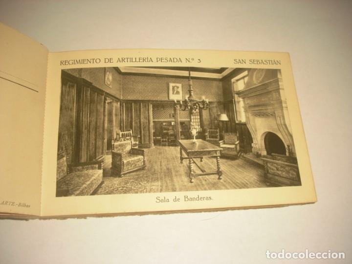 Postales: REGIMIENTO DE ARTILLERIA PESADA Nº 3 , SAN SEBASTIAN . 24 POSTALES. - Foto 5 - 147733758