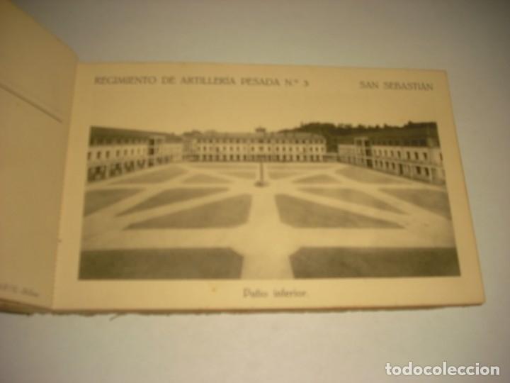 Postales: REGIMIENTO DE ARTILLERIA PESADA Nº 3 , SAN SEBASTIAN . 24 POSTALES. - Foto 6 - 147733758