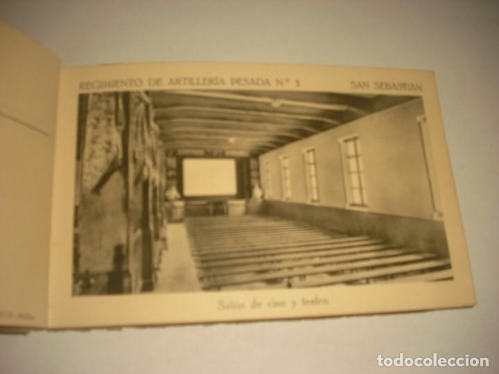 Postales: REGIMIENTO DE ARTILLERIA PESADA Nº 3 , SAN SEBASTIAN . 24 POSTALES. - Foto 7 - 147733758