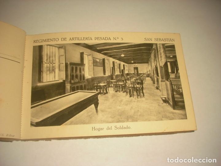 Postales: REGIMIENTO DE ARTILLERIA PESADA Nº 3 , SAN SEBASTIAN . 24 POSTALES. - Foto 8 - 147733758