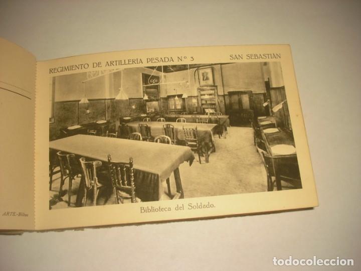 Postales: REGIMIENTO DE ARTILLERIA PESADA Nº 3 , SAN SEBASTIAN . 24 POSTALES. - Foto 9 - 147733758