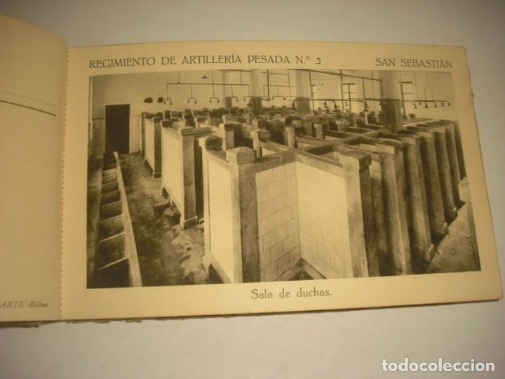 Postales: REGIMIENTO DE ARTILLERIA PESADA Nº 3 , SAN SEBASTIAN . 24 POSTALES. - Foto 10 - 147733758