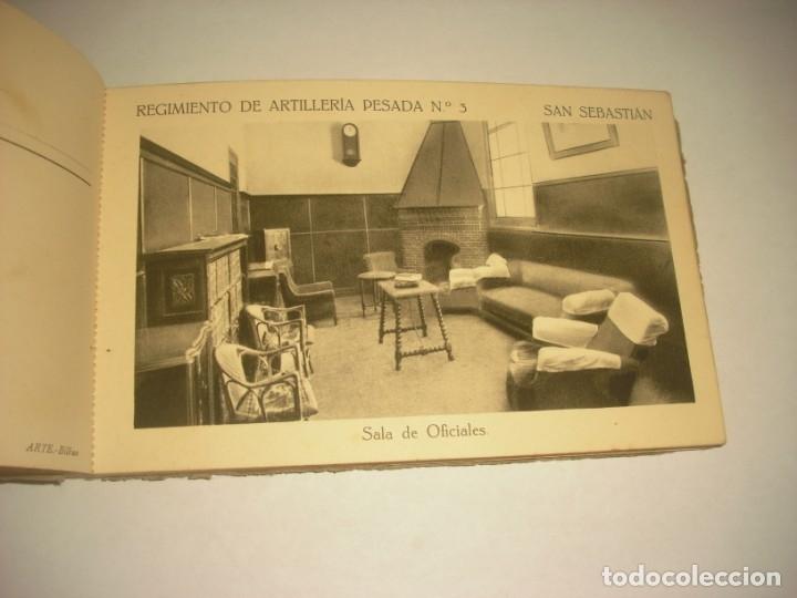 Postales: REGIMIENTO DE ARTILLERIA PESADA Nº 3 , SAN SEBASTIAN . 24 POSTALES. - Foto 11 - 147733758
