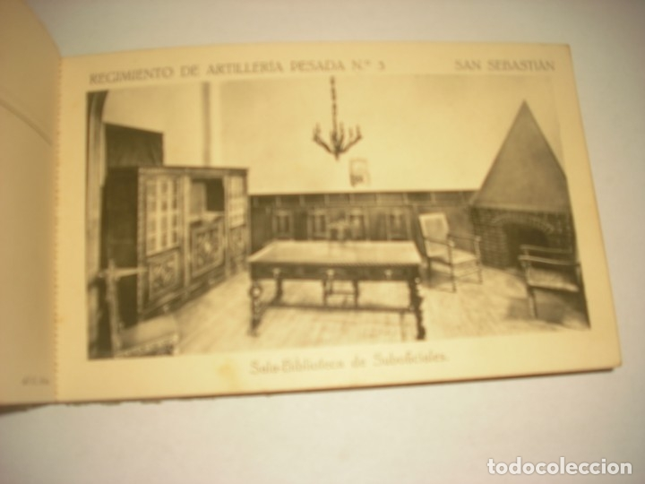 Postales: REGIMIENTO DE ARTILLERIA PESADA Nº 3 , SAN SEBASTIAN . 24 POSTALES. - Foto 13 - 147733758