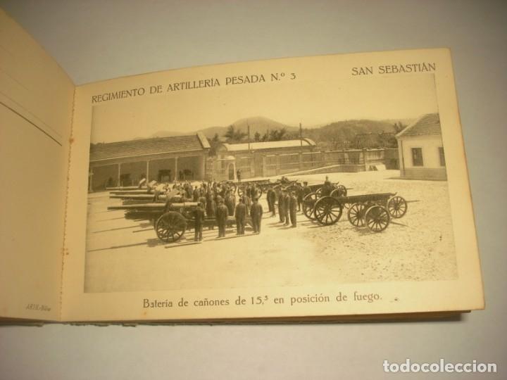 Postales: REGIMIENTO DE ARTILLERIA PESADA Nº 3 , SAN SEBASTIAN . 24 POSTALES. - Foto 16 - 147733758