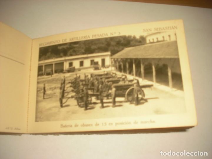 Postales: REGIMIENTO DE ARTILLERIA PESADA Nº 3 , SAN SEBASTIAN . 24 POSTALES. - Foto 17 - 147733758