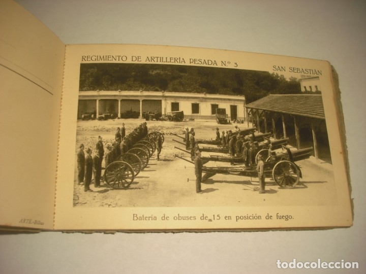 Postales: REGIMIENTO DE ARTILLERIA PESADA Nº 3 , SAN SEBASTIAN . 24 POSTALES. - Foto 18 - 147733758