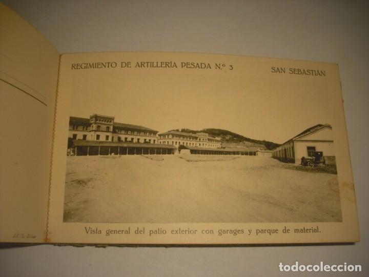 Postales: REGIMIENTO DE ARTILLERIA PESADA Nº 3 , SAN SEBASTIAN . 24 POSTALES. - Foto 20 - 147733758