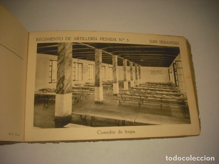 Postales: REGIMIENTO DE ARTILLERIA PESADA Nº 3 , SAN SEBASTIAN . 24 POSTALES. - Foto 21 - 147733758