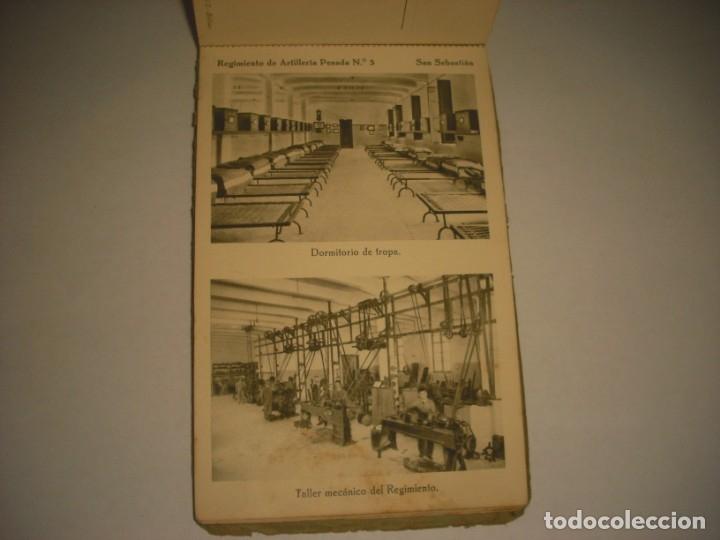Postales: REGIMIENTO DE ARTILLERIA PESADA Nº 3 , SAN SEBASTIAN . 24 POSTALES. - Foto 22 - 147733758