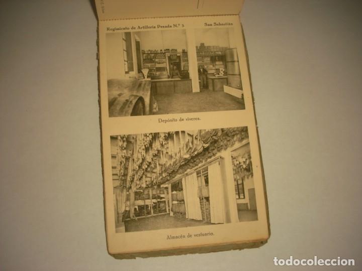 Postales: REGIMIENTO DE ARTILLERIA PESADA Nº 3 , SAN SEBASTIAN . 24 POSTALES. - Foto 23 - 147733758