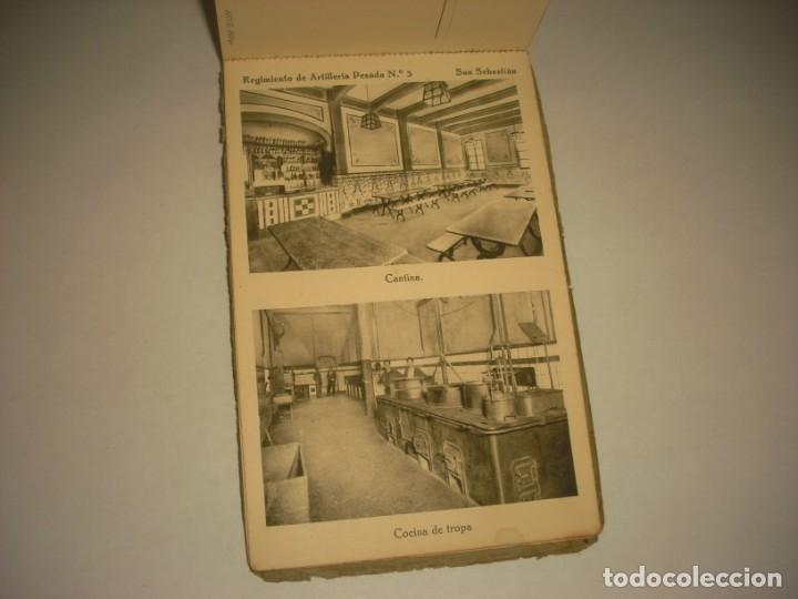 Postales: REGIMIENTO DE ARTILLERIA PESADA Nº 3 , SAN SEBASTIAN . 24 POSTALES. - Foto 24 - 147733758