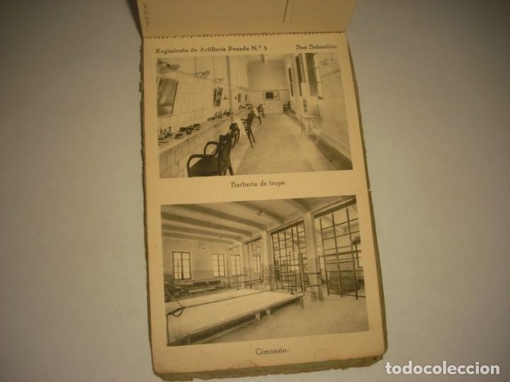 Postales: REGIMIENTO DE ARTILLERIA PESADA Nº 3 , SAN SEBASTIAN . 24 POSTALES. - Foto 25 - 147733758