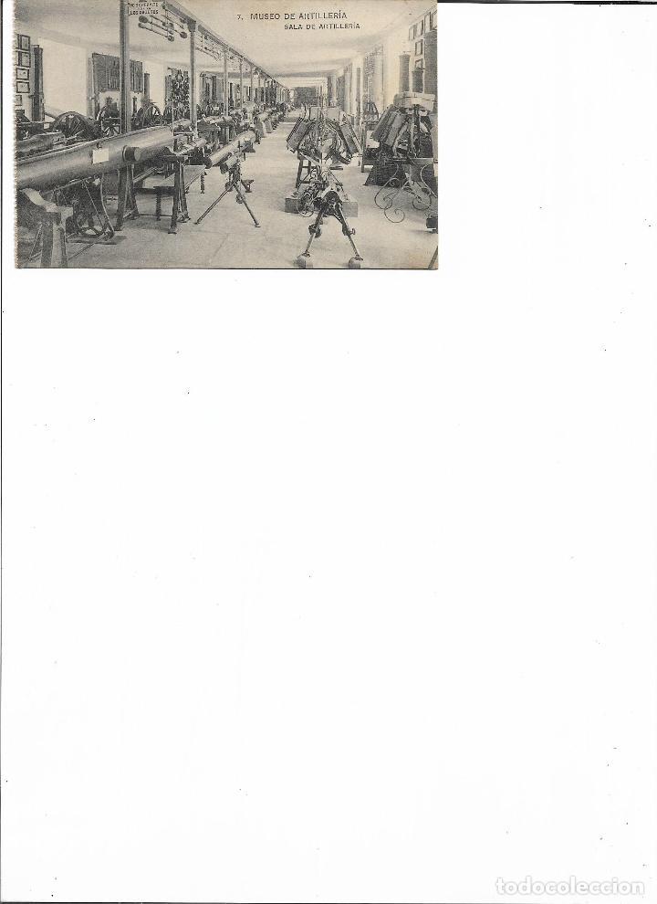 Postales: POSTAL SALA DE ARTILLERIA MUSEO DE ARTILLERIA FOTOTIPIA DE HAUSER Y MENET MADRID - Foto 2 - 150442626