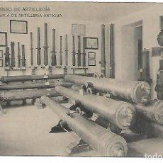 Postales: POSTAL SALA DE ARTILLERIA ANTIGUA DEL MUSEO DE ARTILLERIA FOTOTIPIA DE HAUSER Y MENET - MADRID -. Lote 150448766