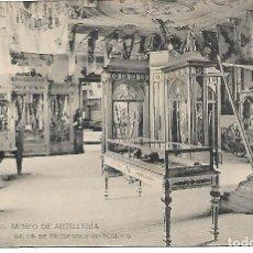 Postales: TARJETA POSTAL MUSEO DE ARTILLERIA SALON DE RECUERDOS HISTORICOS FOTOTIPIA DE HAUSER Y MENET. Lote 151226078