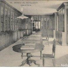 Postales: TARJETA POSTAL MUSEO DE ARTILLERIA BIBLIOTECA FOTOTIPIA DE HAUSER Y MENET MADRID. Lote 151226678