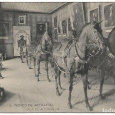 Postales: TARJETA POSTAL MUSEO DE ARTILLERIA SALA DE ALFONSO XII FOTOTIPIA DE HAUSER Y MENET MADRID. Lote 151266318