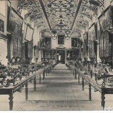 Postales: TARJETA POSTAL MUSEO DE ARTILLERIA SALON DE REINOS ( MODELOS ) FOTOTIPIA DE HAUSER Y MENET MADRID. Lote 151267766