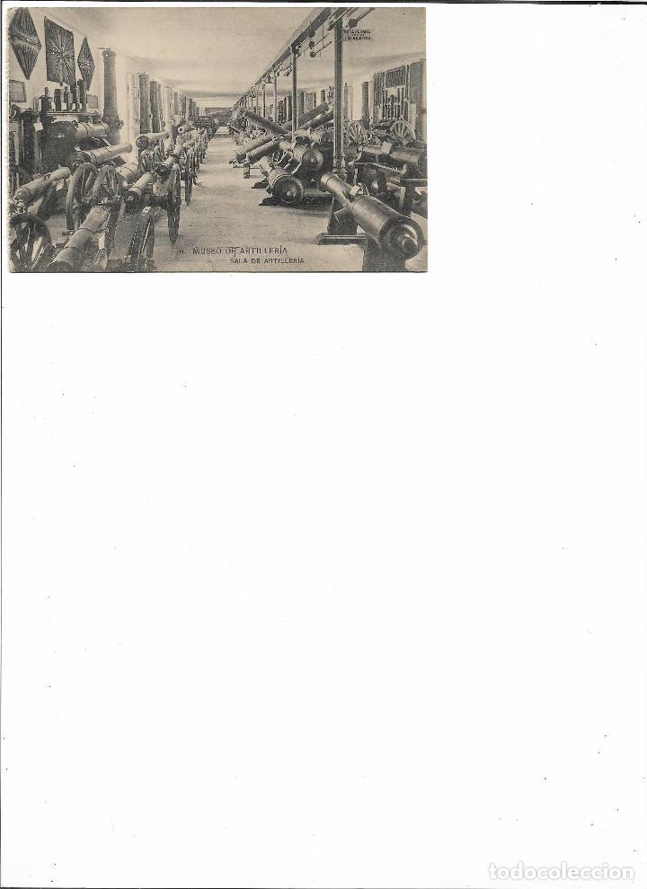 Postales: TARJETA POSTAL MUSEO DE ARTILLERIA SALA DE ARTILLERIA FOTOTIPIA DE HAUSER Y MENET MADRID - Foto 2 - 151268434