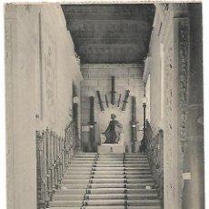 Postales: TARJETA POSTAL MUSEO DE ARTILLERIA ESCALERA PRINCIPAL FOTOTIPIA DE HAUSER Y MENET MADRID. Lote 151271202