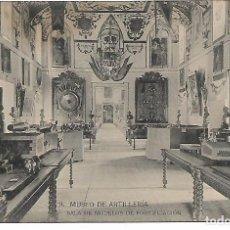 Postales: TARJETA POSTAL MUSEO DE ARTILLERIA SALA DE MODELOS DE FORTIFICACION FOTOTIPIA DE HAUSER Y MENET. Lote 151272142