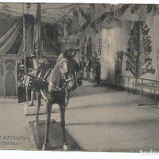 Postales: TARJETA POSTAL MUSEO DE ARTILLERIA SALA DE ULTRAMAR FOTOTIPIA DE HAUSER Y MENET MADRID. Lote 151274882