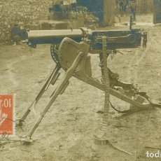 Postales: AMETRALLADORA MG-08 ALEMANIA. I GUERRA MUNDIAL. CIRCULADA EN 1916.. Lote 151433082