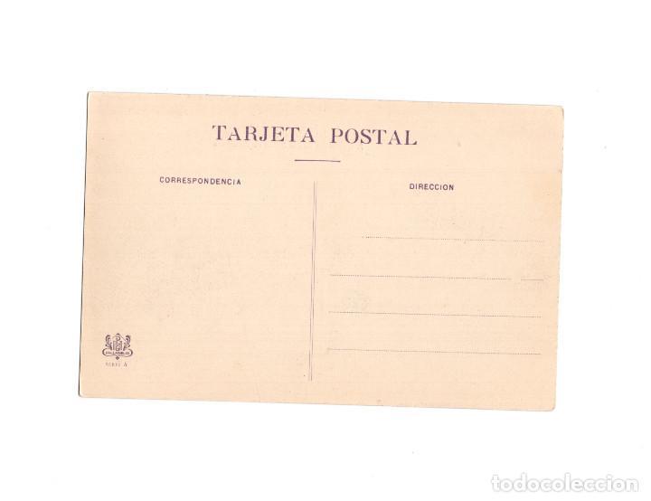 Postales: DESCANSO EN LAS HERAS DE SIMANCAS. COLECCION ACADEMIA CABALLERIA. MARCHA 1909 - Foto 2 - 153817782