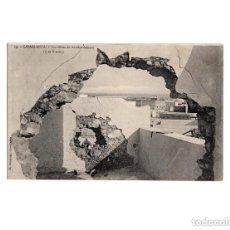 Postales: GUERRA DE MARRUECOS. CASABLANCA Nº 29. JH BOUSSUGE.- LES EFFETS DU BOMBARDEMENT. Lote 154246146