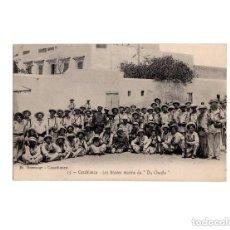 Postales: GUERRA DE MARRUECOS. CASABLANCA Nº 25. JH BOUSSUGE.- LES BRAVES MARINS DU CHAYLA. Lote 154247510