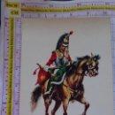 Postales: POSTAL MILITAR. AÑO 1969. EJÉRCITO ESPAÑOL. REGIMIENTO DE CORACEROS DEL REY 1816. 2128. Lote 154498458
