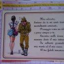 Postales: POSTAL MILITAR. AÑO 1987. SOLDADO SEÑORITA HUMOR ITALIA. 2144. Lote 154499114