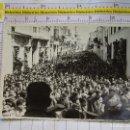 Postales: FOTO FOTOGRAFIA POLÍTICO MILITAR. AÑOS 40 60. DISCURSO MILITAR FALANGISTA EN BADAJOZ ?. 2313. Lote 155864502