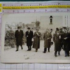 Postales: FOTO FOTOGRAFIA POLÍTICO MILITAR. AÑOS 40 60. POLÍTICOS MILITARES. BADAJOZ? GERONA? ALMERÍA? 2314. Lote 155864682