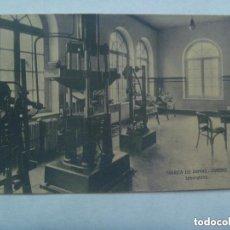 Postales: POSTAL FABRICA DE ARMAS DE OVIEDO : LABORATORIO . PRINCIPIOS DE SIGLO.. Lote 156563038