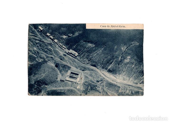 CASA DE ABD-EL-KRIM. (Postales - Postales Temáticas - Militares)
