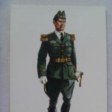 Postales: POSTAL DE AVIACION : OFICIAL CON UNIFORME DE GALA, 1928 .. DE DELFIN SALAS. Lote 158454730