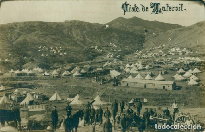 MARRUECOS MELILLA VISTA DE TAFERSIT. SOLDADOS ESPAÑOLES. HACIA 1910