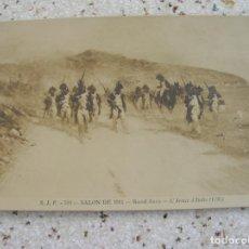 Postales: POSTAL DE RAOUL ARUS-L'ARMEE D'ITALIE 1796. Lote 160009134