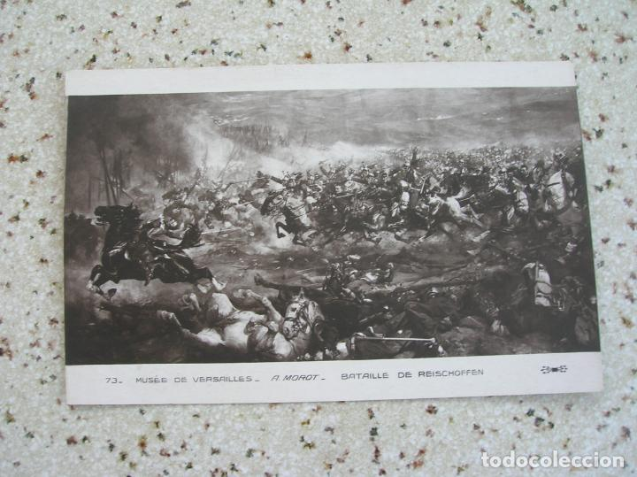 POSTAL DE MOROT ,BATAILLE DE REISCHOFFEN (Postales - Postales Temáticas - Militares)