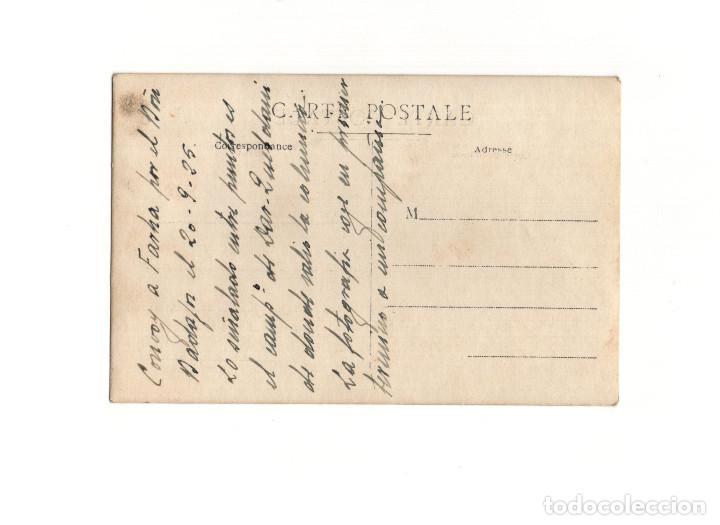 Postales: GUERRA DEL RIF. POSTAL FOTOGRÁFICA.- CONVOY REGIMIENTO BADAJOZ 1925 - Foto 2 - 160479226