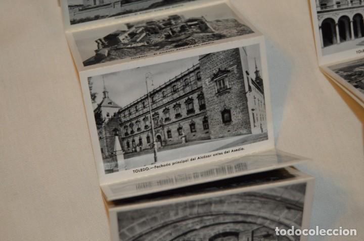 Postales: SET DE PRIMERA Y SEGUNDA SERIE DE POSTALES DEL ALCAZAR DE TOLEDO - MUY ANTIGUAS - RARAS - ENVÍO 24H - Foto 6 - 201659130