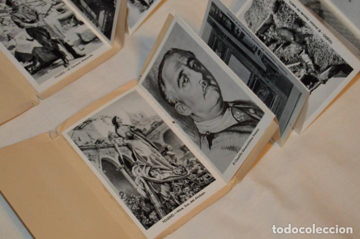 Postales: SET DE PRIMERA Y SEGUNDA SERIE DE POSTALES DEL ALCAZAR DE TOLEDO - MUY ANTIGUAS - RARAS - ENVÍO 24H - Foto 7 - 201659130