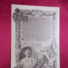 Postales: TARJETA POSTAL. SARGENTO D. MANUEL DOMINGUEZ GARRIDO,DEL REGIMIENTO DE TARRAGONA.. THOMAS. Lote 161510258