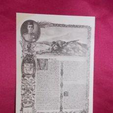 Postales: TARJETA POSTAL. CABO D. MARIANO GARCIA MARTIN, DEL REGIMIENTO DE CERIÑOLA, Nº 42. THOMAS. Lote 293863778