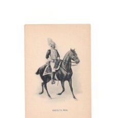 Postales: ESCOLTA REAL.- COLECCION ROMO Y FÜSSEL - HAUSER Y MENET.. Lote 163153514