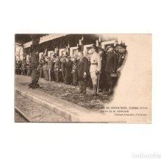 Postales: ACADEMIA DE INFANTERÍA CURSO 1913-1914 VISITA DE M. POINCARÉ.. Lote 163774642