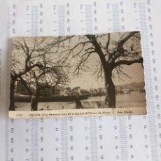 Postales: CEUTA FOTO RUBIO ESCRITA POR EL TEMPLAO GRUPO REGULARES N3 8ª COMPAÑIA CEUTA 1957. Lote 163869086